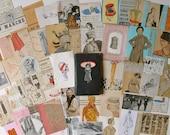 Pocket Craft Fashion Notebook - Ephemera Paper Pack - Scrapbooking Supplies - Smash  Altered Book
