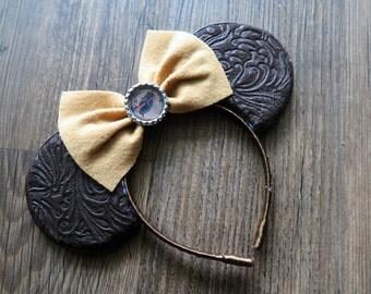 Indiana Jones Themed Mickey Ears