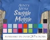 Harry Potter Baby, Aunt Onesie, Harry Potter Onesie, Funny Harry Potter Onesie, Funny Aunt Onesie, Gift from auntie, Harry Potter Baby Gift