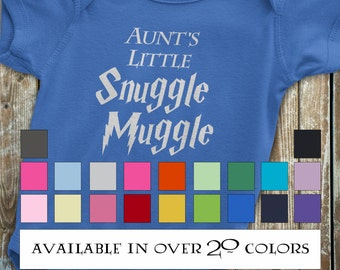 Harry Potter Baby, Aunt Onesie, Harry Potter Onesie, Funny Harry Potter Onesie, Funny Aunt Onesie, Gift from auntie, Harry Potter Baby Gift