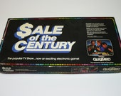 Sale Of The Century Board Game with Electronic Quizzard 1986 Tv Show - Rare