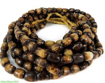 Bone Trade Beads Brown Kenya Africa 98881