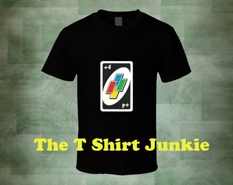 Uno Card Game Draw Four T-Shirt