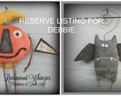 Reserve Listing for Debbie