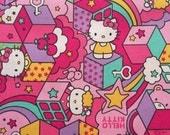 Hello kitty fabric half yard