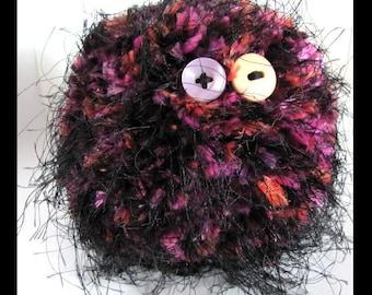 Amigurumi Alien Crocheted Plush an OOAK Creation by Nightside INK - Mage