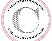 Custom Listing for Carolyn- 10 dozen Alice in Wonderland Themed Cookie Nibbles