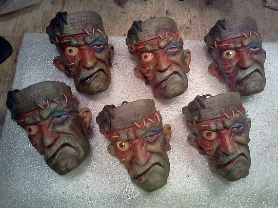 Frankenstein Ornament by Tom Taggart
