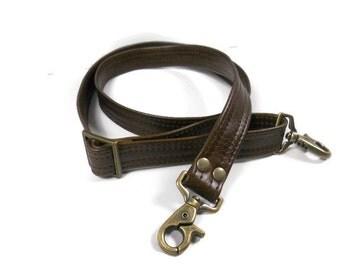 Leather Purse Strap Replacement, Adjustable Crossbody Strap, Replacement Bag Strap, Leather Crossbody Strap, Handbag Strap