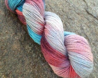 Royal Baby Alpaca Yarn Worsted Weight hand dyed