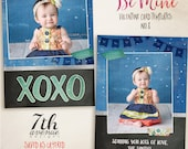 Be Mine 8 7x5inch CARD templates for photographers