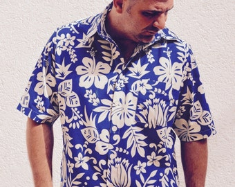Hawaiian 40's/50's style men's shirt