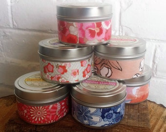Cranberry Marmalade Soy Candle 6 oz., candle, soy candle, Soy Candle tin, Candle Tin, Cranberry
