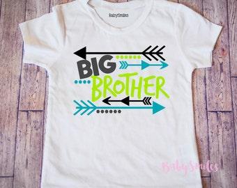 Big Brother Shirt Big Bro Shirt Little Brother Sibling Shirts Big Brother Tshirt Kids Shirt Baby Announcement Shirt Pregnancy Announcement