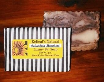 Columbian Mocchiato Luxury Bar Soap