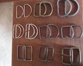 Vintage Set of 20 D Rings - Purse/Belt Hardware