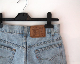 levis mini shorts