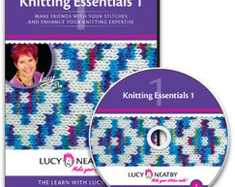 On SALE: 50% Off! Lucy Neatby's Knitting Essentials 1 DVD