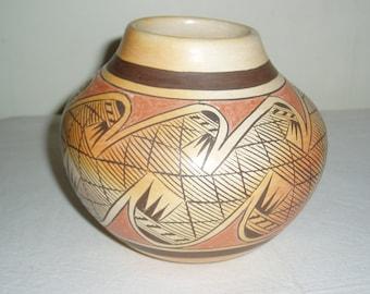 Hopi Migration Pottery Seed Pot, Fannie Nampeyo