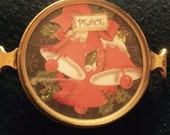 Vintage Handcrafted Christmas Bells Bracelet Piece
