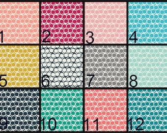 Crib Blanket, Crib Bedding, Crib Quilt, Baby Bedding, Block Baby Quilt, Square Baby Quilt, geometric, circles