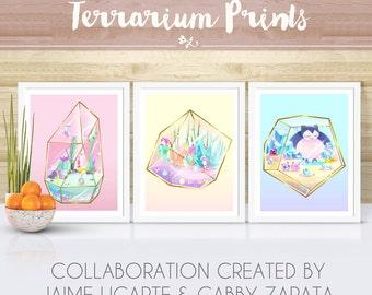 8.5x11 Terrarium Collab- Choose Print Choice