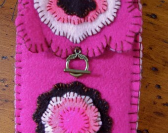 Handmade, Handstitched OOAK Rose of India TAROT BAG with Blessing