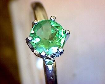 Stunning Tsavorite Ring
