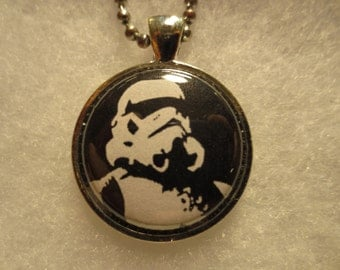Star Wars Stormtrooper Pendant with Chain