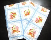 Vintage Strawberry Shortcake Fabric Material