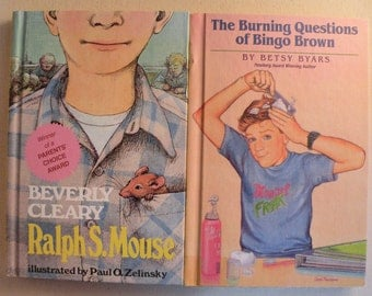 Lot 34 Beverly Cleary and Judy Blume Chapter Books Ramona Quimby Superfudge