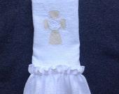 Hand Towel, Cross Hand Towel, Hostess, Wholesale Hand Towel, Made in the USA, Cross, Easter, Wedding, Hostess Gift, Teacher Gift, bridesmaid