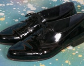 ADOLFO Men's Patent Leather Shoes Size 9
