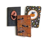 Halloween Trio Mini Compositions Books Halloween Gifts for Kids Party Favors