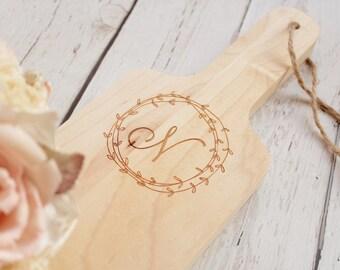 Maple Baguette Cutting Board Walnut Bread Board Custom Cutting Board Engraved Bread Board Wedding Gift Housewarming Gift