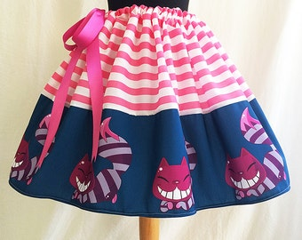Cheshire Cat Costume, Cheshire Cat full dressing up skirt, fantasy skirts from rooby lane