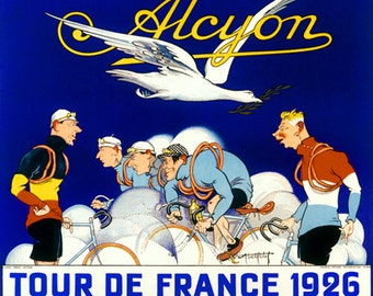 Alcyon Tour De France Bicycle Poster (#1375) 6 sizes