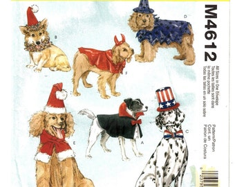 McCalls Costumes 4612 Dog Halloween Costumes Check it Out Pretty Cute