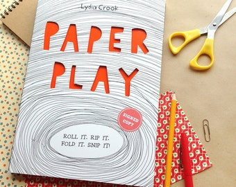 PAPER PLAY activity book - signed copy