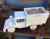Personalized Country Chic Wedding RIng bearer Truck Alternative to the The Ring Pillow