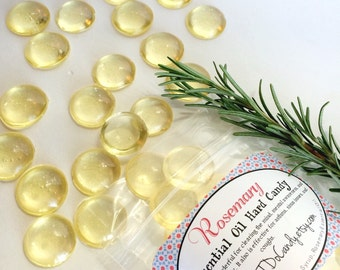 ROSEMARY  Essential Oil Hard Candy 5oz