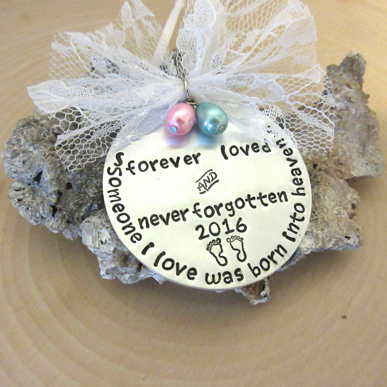 Baby loss ornaments - Memorial Baby Ornament Miscarriage Ornament Stillborn Stillbirth Pregnancy Loss Ornament Baby Loss