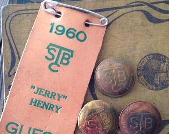 Vintage Horse Bridle Buttons