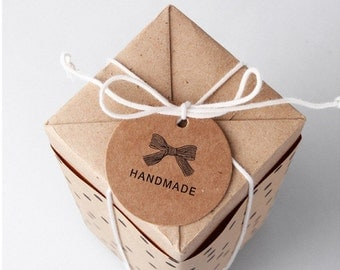 20 Handmade Gift Tag Rustic Tags Shipping End of July 2016