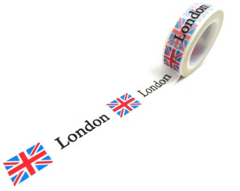 London Washi Tape - British Flag Washi Tape