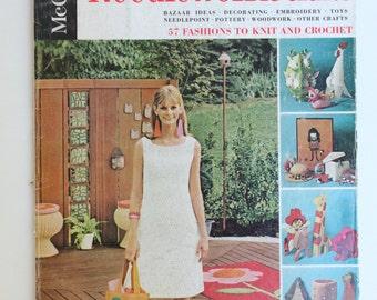 Vintage McCall's Needlework and Crafts Spring-Summer 1967 Magazine