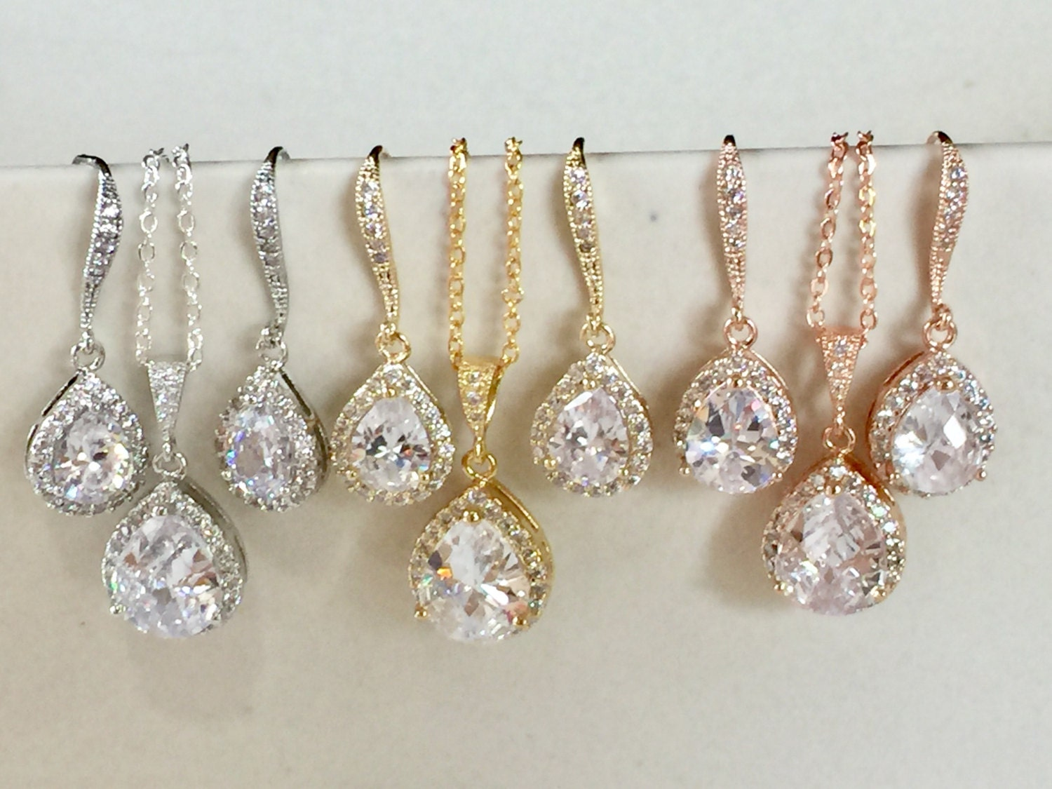 Bridal Jewelry Gift Sets : sets or more discounted Bridesmaid jewelry gift set on gift