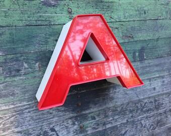 A - Reclaimed vintage letter - excellent