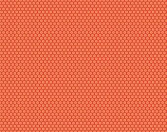 Scenic Route Dots in Orange, Deena Rutter, Riley Blake Designs, 100% Cotton Fabric, C3665-ORANGE