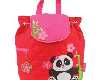 Stephen Joseph Panda Backpack, Personalized Free